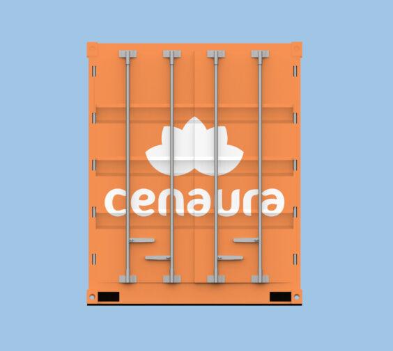 Orange container