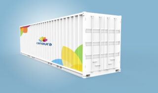 Large shipping container
