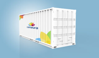 Medium size hydroponic container