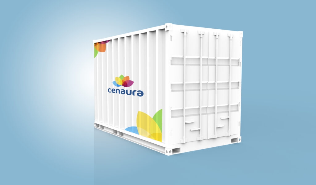 Container farm, hydroponic container